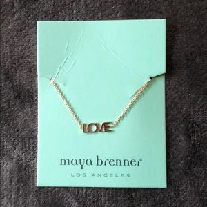 "Maya Brenner Gold ""LOVE"" Bracelet"
